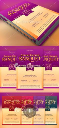 Amazing Ticket Templates for Church and Fundraising Events GraphicMule