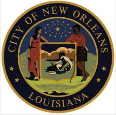 Mayor Cantrell touts revised New Orleans seal with skin of Native Americans darkened |  | nola.com New Orleans City, City Logo, Black Indians, Caribbean Cruise, Louisiana, Nativity, Seal, 19th Century, United States