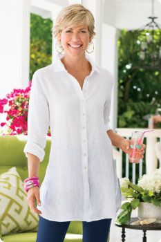 Soft Surroundings product reviews and customer ratings for Washed Linen Shirt I. Read and compare experiences customers have had with Soft Surroundings products.