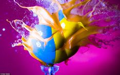 bullet through paintball (Alan Sailer)