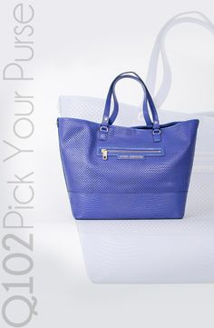 Juicy Couture - Large Tote. Go to wkrq.com to find out how to play Q102's Pick Your Purse!