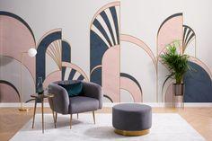 Art Deco Bedroom, Art Deco Living Room, Bedroom Artwork, Modern Bedroom, Casa Art Deco, Interiores Art Deco, Muebles Art Deco, Art Rose, Art Deco Kitchen