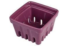 S/2 Berry Baskets, Purple on OneKingsLane.com