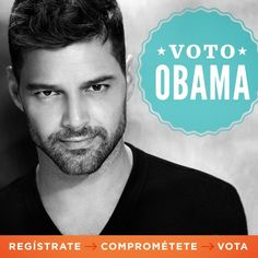 Ricky Martin: I'll vote for Obama, you should too
