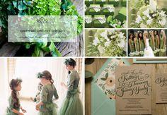 Week 10: Green Wedding Mood Board!  #week10 #weddingmoodboard #weekweddingmoodboard #green  #destinationwedding