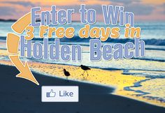 I Just Pinned to Win 3 Days in Holden Beach, courtesy of Alan Holden Vacations. Pin Now for one more entry into this awesome giveaway!