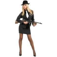 Gangster Moll Adult Womens Sexy 1920'S Mobster Halloween Costume | eBay