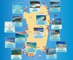 Le più belle spiagge della Sardegna | Infografica