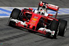 Sebastian Vettel, Ferrari, Circuit de Catalunya, 2016 · F1 Fanatic