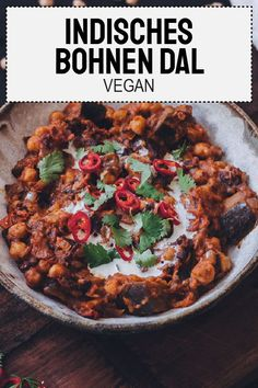 Bohnen Dal – The Unlabeled Chefs We have developed a penchant for Indian cuisine over time and this vegan bean dal is another declaration of love for India. Super easy to prepare and incredibly deep in taste. Chef Recipes, Veggie Recipes, Indian Food Recipes, Vegetarian Recipes, Dinner Recipes, Cooking Recipes, Healthy Recipes, Ethnic Recipes, Vegan Bean Recipes