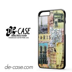 Paris France DEAL-8470 Apple Phonecase Cover For Iphone 6 / 6S