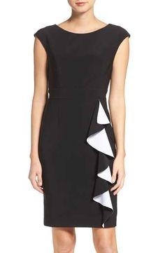 b5800aecd06 Vince Camuto Stretch Sheath Dress Structured Dress