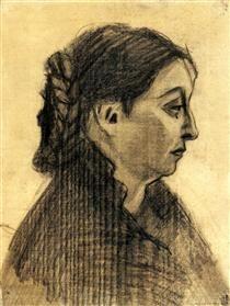 Head of a Woman - Vincent van Gogh1885
