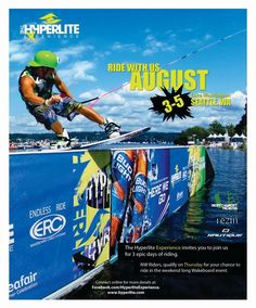 Hyperlite Wake Board Experience at Seafair Weekend!!
