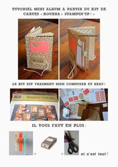 Susie la Grolle: tutoriel! Stampin Up, Magazine Rack, Storage, Decor, Tuto Mini Albums, Cards, Purse Storage, Decoration, Larger