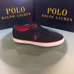 Halford sneakes.  #ralphlauren #shoes Vans Authentic, Sperrys, Polo Ralph Lauren, Sneakers, Shoes, Fashion, Tennis, Moda, Slippers