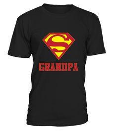 Super Grandpa Shirt 1
