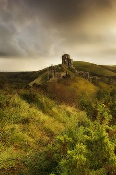 Corfe Castle, England.