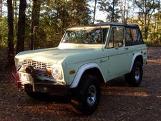 Classic Ford Bronco.