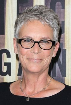The Best Hairstyles for Women Over 50: Jamie Lee Curtis's Pixie Haircut