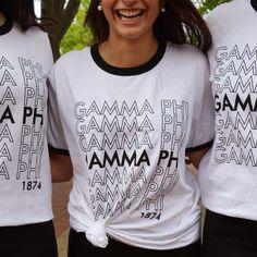 Custom Greek Apparel | Custom Apparel | Gamma Phi | Sorority | Sisterhood | Geneologie