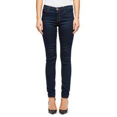 JBrand Women's 811 Mid Rise Indigo Skinny Jeans - Ink