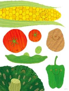 Simple Illustration, Children's Book Illustration, Sweet Blossom, Children Sketch, Tree Wall Decor, Art Clipart, Japan Art, Kitchen Art, Illustrations And Posters