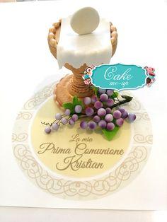 #pescara #cakemeup #pastadizucchero #decorazione #topper #cake #torta #compleanno #comunione #calice #uva