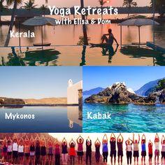 Yoga holidays in Mykonos, Kabak & Kerala