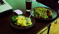 Huancaina con Arroz con pollo ...