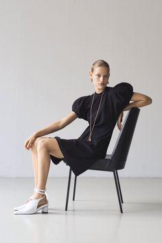 Fashion Poses, Fashion Shoot, Editorial Fashion, Fashion News, Fashion Trends, Photography Poses, Fashion Photography, Ribbed Knit Dress, Vogue Russia