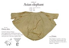 What kind of clothes would an elephant wear? aniknown is a collection of clothes for six types of animals based on each one's features, behavior and habitat. See the full collection from this Lexus Design Award panel winner here.