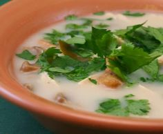 Kalyn's Kitchen®: Thai Chicken Soup Recipe   [#SouthBeachDiet Phase one from Kalyn's Kitchen]