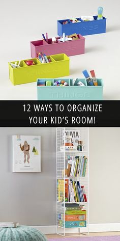 Spring Cleaning: Kid's Room Organization!