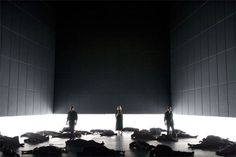 I do not honestly know much about opera but I found this stage really interesting. It is the opera Iphigénie en Tauride by Christoph Willibald Gluck that was first performed in Paris on 18 May 1779. It is a drama around a family of complete self-destructs.