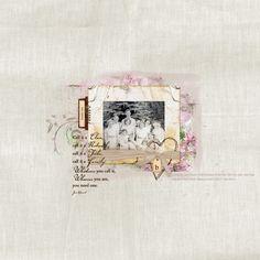 family ties Digital Scrapbooking Layout by Jan Hicks