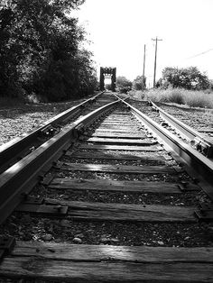 Long walks on the railroad tracks ! just across from my house.  spent hours waiting for the train to run over a penny