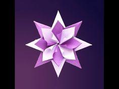 Weihnachts-Origami-Stern - Heikes KartenwerkstattHeikes Kartenwerkstatt