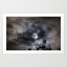 The Night  Art Print by Mystic Fractals - $17.68