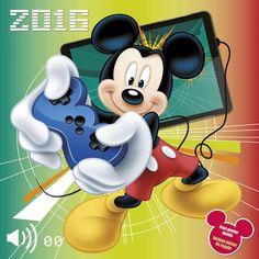 minnie mouse calendar | Calendarios de Pared > CALENDARIO DE PARED 2016 MICKEY MOUSE