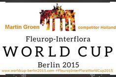 I will respresent Holland during Fleurop Interflora World Cup 2015 (11-13 juni ) in Berlin www.worldcup-berlin2015.com