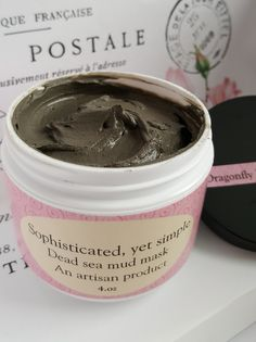 Our Dead sea mud is taken from the Dead sea in Israel. Mixed with Jojoba oil and Lavender essential oil adds a moisturizing and soothing effect. This mud does not have any mild smell and is not gritty,  you can purchase this from my new etsy store https://www.etsy.com/shop/DragonFlyUnlimitedLL?ref=l2-shopheader-name