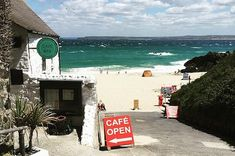 The Porthmeor Beach Cafe, St Ives 17 Breathtaking Places To Eat In Cornwall Cornwall England, Devon And Cornwall, St Ives Cornwall, Yorkshire England, Yorkshire Dales, England Uk, St Ives England, Cornwall Breaks, London England
