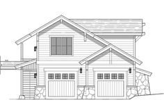 Tiny house over garage. In-law quarters. 605 sf 1 bedroom and 1 bath.  Bungalow exterior.