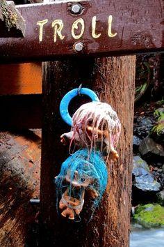 Good luck or bad? 3 trolls under the Skinwood Creek Bridge — Washington Trails Association