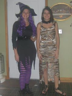 Linda a witch. Allison a cave woman 2013