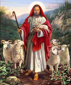 Good Shepherd Painting - Good Shepherd Fine Art Print