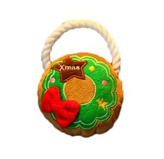 Freerun Pet Squeak Toy Christmas Holiday Garland Gift Rope for Dog and Cat Pets ** Check this awesome product by going to the link at the image. (This is an affiliate link and I receive a commission for the sales)