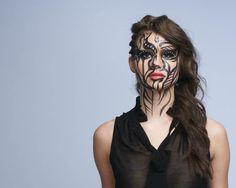 creative tribal look http://www.makeupbee.com/look_creative-tribal-look_25485