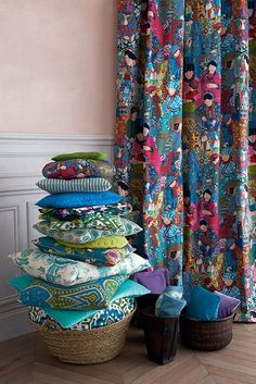 Manuel Canovas  #fabrics #textiles - also available at Mavromac - South Africa   www.africacrafttrust.org.za